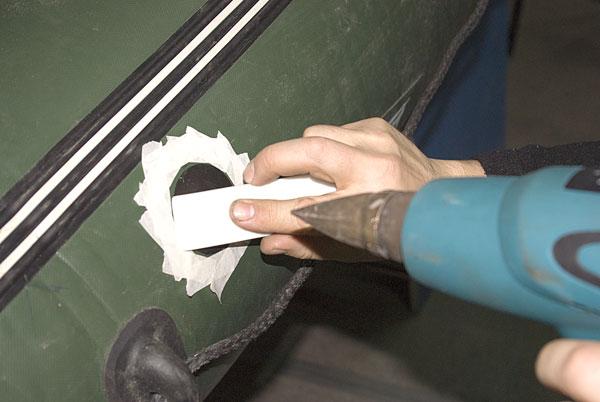 инструменты для ремонта лодок