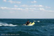 ремонт лодки пвх, в походных условиях